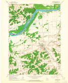 Download a high-resolution, GPS-compatible USGS topo map for Mazomanie, WI (1964 edition)