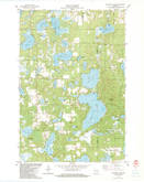 Download a high-resolution, GPS-compatible USGS topo map for Mc Kenzie Lake, WI (1983 edition)