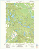 Download a high-resolution, GPS-compatible USGS topo map for Mc Naughton, WI (1983 edition)