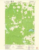 Download a high-resolution, GPS-compatible USGS topo map for Mead Lake West, WI (1980 edition)