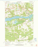 Download a high-resolution, GPS-compatible USGS topo map for Meehan, WI (1990 edition)