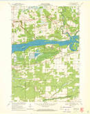 Download a high-resolution, GPS-compatible USGS topo map for Meehan, WI (1972 edition)