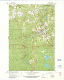 Download a high-resolution, GPS-compatible USGS topo map for Mellen, WI (1989 edition)