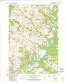 Download a high-resolution, GPS-compatible USGS topo map for Melrose, WI (1984 edition)