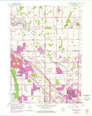 Download a high-resolution, GPS-compatible USGS topo map for Menomonee Falls, WI (1977 edition)