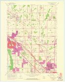 Download a high-resolution, GPS-compatible USGS topo map for Menomonee Falls, WI (1973 edition)