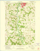 Download a high-resolution, GPS-compatible USGS topo map for Menomonie South, WI (1975 edition)