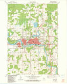 Download a high-resolution, GPS-compatible USGS topo map for Merrill, WI (1983 edition)
