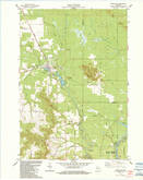Download a high-resolution, GPS-compatible USGS topo map for Merrillan, WI (1984 edition)