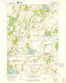 Download a high-resolution, GPS-compatible USGS topo map for Merton, WI (1979 edition)