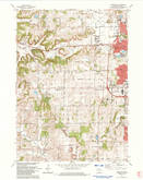Download a high-resolution, GPS-compatible USGS topo map for Middleton, WI (1984 edition)