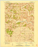 Download a high-resolution, GPS-compatible USGS topo map for Mifflin, WI (1954 edition)