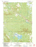 Download a high-resolution, GPS-compatible USGS topo map for Millston, WI (1984 edition)