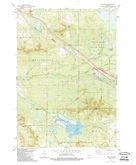 Download a high-resolution, GPS-compatible USGS topo map for Millston, WI (1989 edition)
