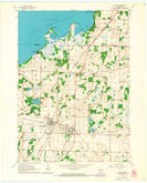 Download a high-resolution, GPS-compatible USGS topo map for Milton, WI (1964 edition)
