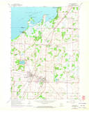 Download a high-resolution, GPS-compatible USGS topo map for Milton, WI (1972 edition)