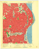Download a high-resolution, GPS-compatible USGS topo map for Milwaukee, WI (1960 edition)