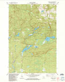 Download a high-resolution, GPS-compatible USGS topo map for Mineral Lake, WI (1984 edition)