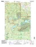 Download a high-resolution, GPS-compatible USGS topo map for Mineral Lake, WI (2006 edition)