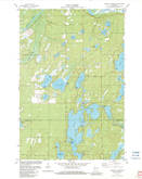 Download a high-resolution, GPS-compatible USGS topo map for Minong Flowage, WI (1983 edition)