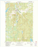 Download a high-resolution, GPS-compatible USGS topo map for Minong, WI (1982 edition)