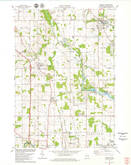 Download a high-resolution, GPS-compatible USGS topo map for Mishicot, WI (1979 edition)