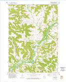 Download a high-resolution, GPS-compatible USGS topo map for Modena, WI (1977 edition)