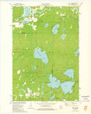 Download a high-resolution, GPS-compatible USGS topo map for Mole Lake, WI (1976 edition)