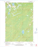 Download a high-resolution, GPS-compatible USGS topo map for Monico NE, WI (1991 edition)