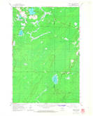 Download a high-resolution, GPS-compatible USGS topo map for Monico NE, WI (1966 edition)