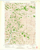Download a high-resolution, GPS-compatible USGS topo map for Monroe NW, WI (1964 edition)