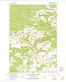 Download a high-resolution, GPS-compatible USGS topo map for Moquah, WI (1978 edition)