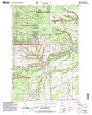 Download a high-resolution, GPS-compatible USGS topo map for Moquah, WI (2006 edition)