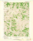 Download a high-resolution, GPS-compatible USGS topo map for Mount Hope, WI (1964 edition)