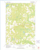 Download a high-resolution, GPS-compatible USGS topo map for Mount Tom, WI (1975 edition)