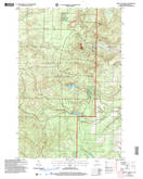 Download a high-resolution, GPS-compatible USGS topo map for Mount Valhalla, WI (2006 edition)