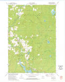 Download a high-resolution, GPS-compatible USGS topo map for Mountain, WI (1977 edition)