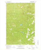 Download a high-resolution, GPS-compatible USGS topo map for Mt Valhalla, WI (1977 edition)