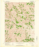 Download a high-resolution, GPS-compatible USGS topo map for Mt Vernon, WI (1964 edition)