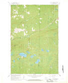 Download a high-resolution, GPS-compatible USGS topo map for Mt Whittlesey, WI (1969 edition)