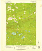 Download a high-resolution, GPS-compatible USGS topo map for Mt Whittlesey, WI (1958 edition)