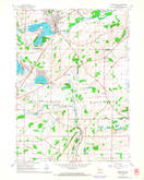 Download a high-resolution, GPS-compatible USGS topo map for Mukwonago, WI (1964 edition)