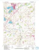 Download a high-resolution, GPS-compatible USGS topo map for Mukwonago, WI (1994 edition)