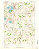 Download a high-resolution, GPS-compatible USGS topo map for Mukwonago, WI (1972 edition)