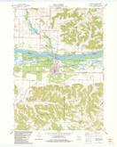 Download a high-resolution, GPS-compatible USGS topo map for Muscoda, WI (1983 edition)