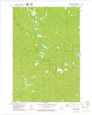 Download a high-resolution, GPS-compatible USGS topo map for Natzke Camp, WI (1979 edition)