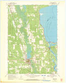 Download a high-resolution, GPS-compatible USGS topo map for Necedah, WI (1971 edition)