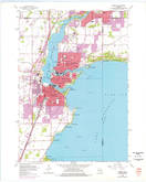 Download a high-resolution, GPS-compatible USGS topo map for Neenah, WI (1976 edition)