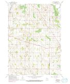 Download a high-resolution, GPS-compatible USGS topo map for Nenno, WI (1991 edition)