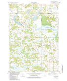 Download a high-resolution, GPS-compatible USGS topo map for Neshkoro, WI (1984 edition)